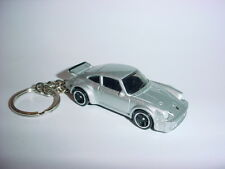 NEW 3D PORSCHE 934 Turbo RSR CUSTOM KEYCHAIN keyring key racing silver finish