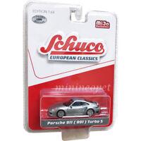 SCHUCO 9000 EUROPEAN CLASSICS PORSCHE 911 991 TURBO S 1/64 Chase