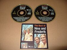 The Best Of Nina And Frederik 2 cd Reader Digest 40 tracks 1998 Ex Condit Rare