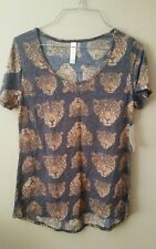 Lularoe Classic T Small Tigers Browns Pretty SOFT VHTF UNICORN NWT New BNWT