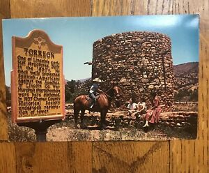Vintage 1960's Torreon Lincoln New Mexico NM postcard picture Lincoln county war