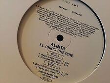 """ALBITA EL CHICO CHEVERE 12""""  LP 1996 SONY AED 8350 DJ PROMO"""