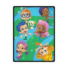 New Customize Custom Bubble Guppies Travel Home Office Soft Blanket 58x80 inch