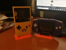 Gameboy colour and advance Stand orange