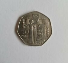 2003 SUFFRAGETTE 50p COIN 1903 GIVE WOMEN THE VOTE Circulated Condition