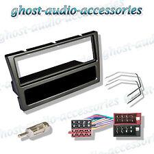 VAUXHALL Black singolo DIN Radio Stereo Cd Auto Cruscotto Fascia Adattatore Kit di montaggio