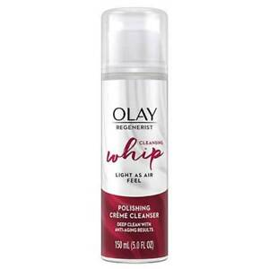 10 Olay Regenerist Cleansing Whip Polishing Creme Cleanser  Exp 6/21+ GW 2507