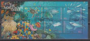 Australien - Michel-Nr. Block 20 II gestempelt/o (Unterwasserwelt / Sea Life)