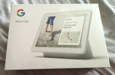 Google Home Nest Hub with Google Assistant, Chalk - Brand New & Sealed