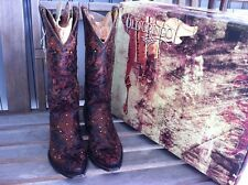 Old Gringo Sozey 7 B Swarovski Crystal Western Cowboy Cowgirl Embroidered Boots
