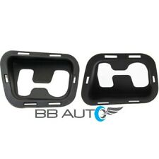 NEW FRONT BUMPER TOW HOOK BEZEL COVERS SET FOR 07-13 SUBURBAN TAHOE AVALANCHE
