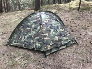 Eureka Tcop One Person Combat Wcp woodland camouflage Camping Outdoor Tent Zelt