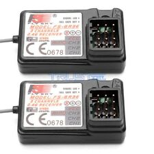 2 PCS FlySky FS-GR3E Receiver 3CH Failsafe for FLYSKY GT2B GT3BGT3C Transmitter.