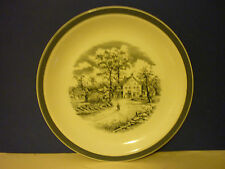 Ironstone British Alfred Meakin Pottery Dinner Plates