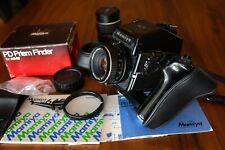 Mamiya m645 Medium Format Camera With 80mm F2.8 And 150mm F3.5