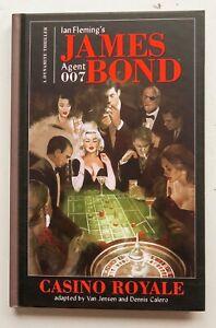 Ian Fleming's James Bond 007 Casino Royale 1 HC Graphic Novel Comic Book
