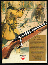 2000 Sturm Ruger M77 Mark II Bolt Action Rifle Bear Hunting Print Ad