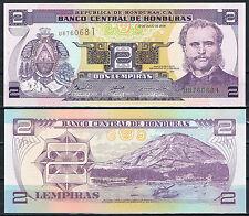 HONDURAS - 2 LEMPIRAS 2006  Pick 80a   SC  UNC