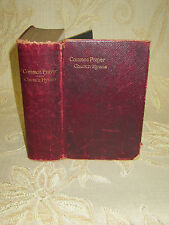 Antique Book Of The Common Prayer - 1899