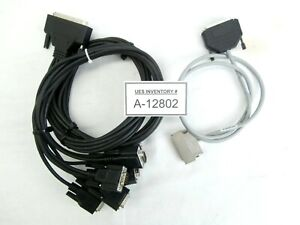 Kawasaki 0301851-000 Robot Interlink with Advantech 8-Port Serial Cable Set Used