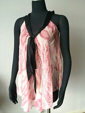 Nwt $300 Samantha Chang Size M Classic Silk Babydoll Lingerie Summer Ice Intimates & Sleep