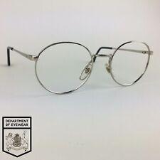 BOOTS eyeglasses SILVER ROUND glasses frame MOD: LIDO C2