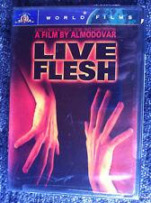LIVE FLESH - REGION 1 DVD - NEW - PEDRO ALMODOVAR - free shipping worldwide