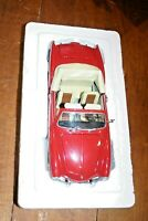 1/24 PAULS MODEL ART MINICHAMPS VOLKSWAGEN KARMANN GHIA RED OPENING FEATURES MIB