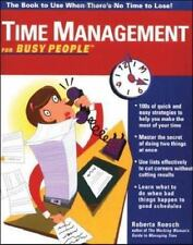 Time Management for Busy People Roesch, Roberta Paperback