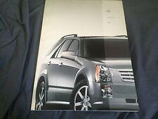 2005 Cadillac SRX SUV Color Brochure Catalog Prospekt
