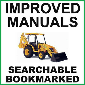 John Deere 110 Tractor Loader Backhoe Service Technical Manual TM1987 on a CD