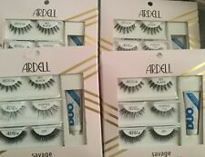 (4 Box 12 pack) Ardell False Eyelash Kit Gift Set w/ Adhesive but first coffee
