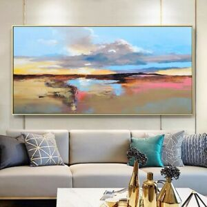 HUGE 150cm By 75 cm , Original Oil Painting On Canvas Contemporary Art