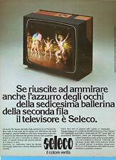 (AM) EPOCA975-PUBBLICITA'/ADVERTISING-1975- SELECO TV COLOR