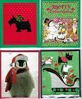 Handmade CHRISTMAS GIFT CARD/MONEY HOLDERS #C$-6--Lot of 4