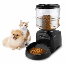 5.5L Automatic Dog/Cat Feeder, LCD Display Timer and Voice Record