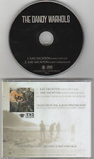 The Dandy Warhols - Sad Vacation - Rare Radio Promotional CD Single - 1203
