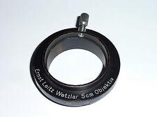 Leitz / Leica  Adapter für 50mm Objektiv