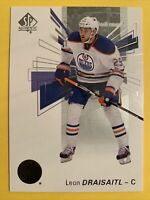 2016-17 Upper Deck SP Authentic  #24 Leon Draisaitl Edmonton Oilers