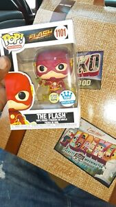 Funko POP! TV: Exclusive The Flash Glow In The Dark Figure #1101  MINT CONDITION