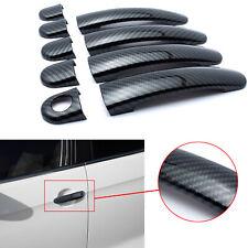 Carbon Fiber Trim Side Door Handle Covers For VW Tiguan Jetta 2009-16 Polo 10-14