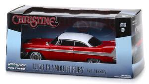 Plymouth Fury 1958 Evil Version - Christine Movie (1983) 1:43 (Greenlight 86575)