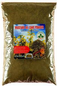 Organic Mustard Oil Cake Powder Natural Fertilizer for Bonsai & plants 900 Grams