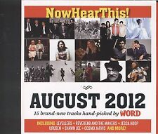 Now Hear this August 2012 cd 15 track
