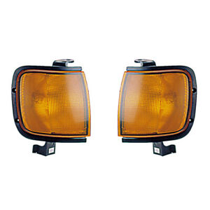 Corner Signal Lights Pair Set for 98-99 Isuzu/Honda Rodeo/Amigo/Passport