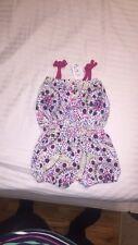 NEW Baby Girl 6-9m Sleeveless Romper