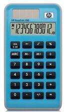 Hewlett Packard HP EasyCalc 100 - 12-digit Solar Pocket Calculator