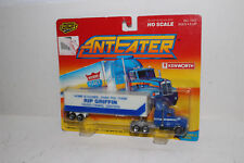 ROAD CHAMPS ANTEATERS DIECAST #7372 KENWORTH TRACTOR, RIP GRIFFIN TRAILER, HO