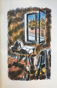 1931 BARNETT FREEDMAN Original Lithograph Memoirs of an Infantry Officer Sassoon