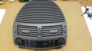 2004 MERCEDES E CLASS W211 HEATER CONTROL PANEL ASSEMBLY 2118300385